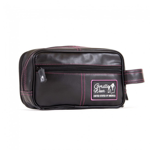 Gorilla Wear Toiletry Bag black pink