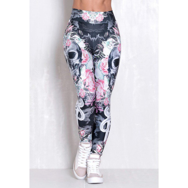 Rock Code Leggings Elastic Blade