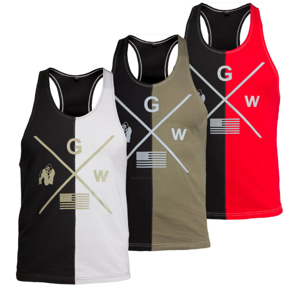 Gorilla Wear Sterling Stringer Tank Top