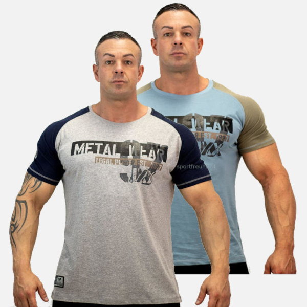 Legal Power T-Shirt Metal Wear 3300-869