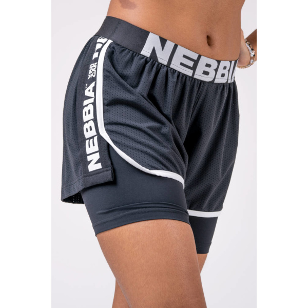 Nebbia Double Layer Shorts 527