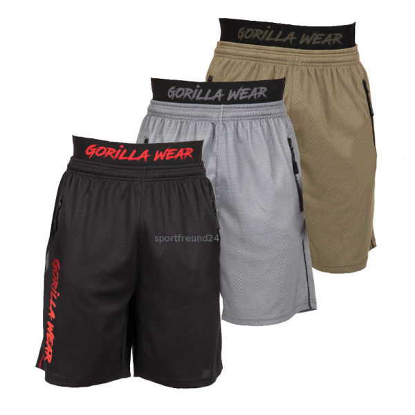 Michance Outdoor-Fitness-Shorts F/ür Herren Doppellagige Gro/ße Stretch-Fitnesshose Multifunktionale Laufhose Schnell Trocknend