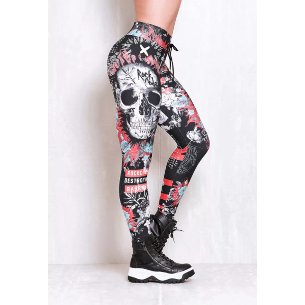 Rock Code Leggings Elastic Immortal